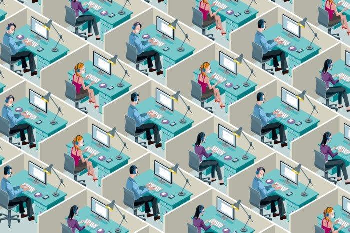 Uniform cubicle art