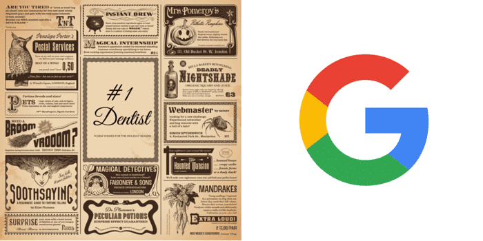 News paper vs. Google