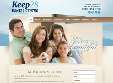 Featured Dentist Series #1: Keep 28 Dental Center