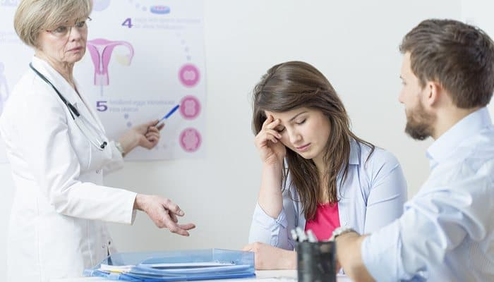 Confused Patient in Medical Office