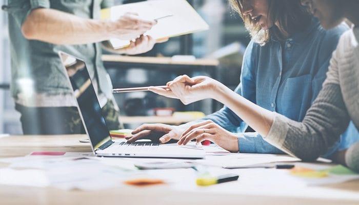 Professional Website Designers Planning Medical Website