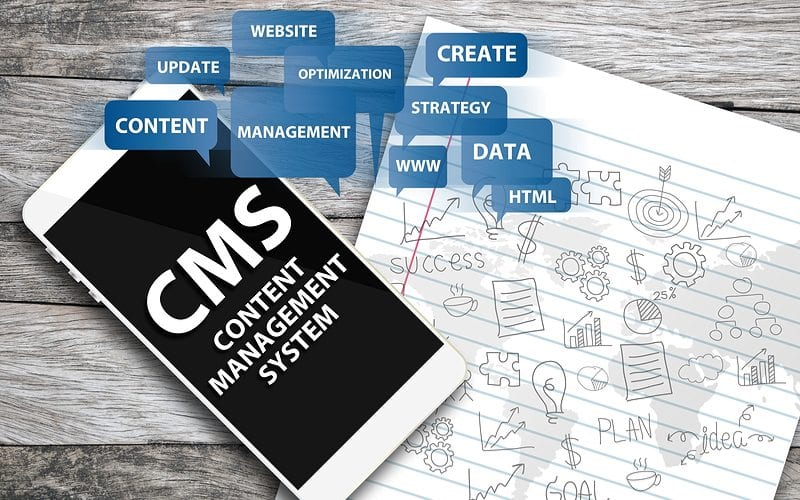 Content Management System for Website