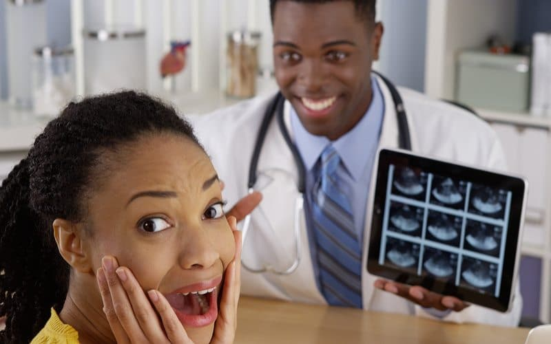 Patient Happy to See She's Pregnant