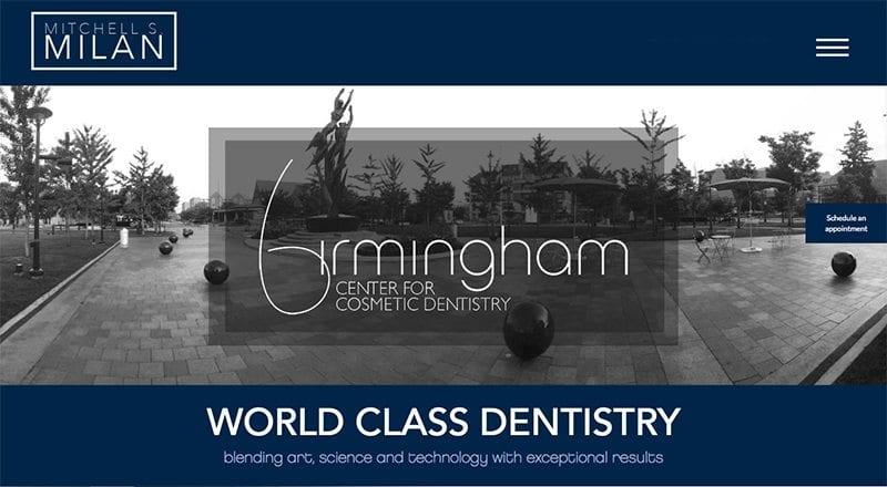 Image of a Dental Website