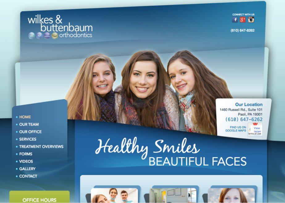 wilkes buttenbaum orthodontics website