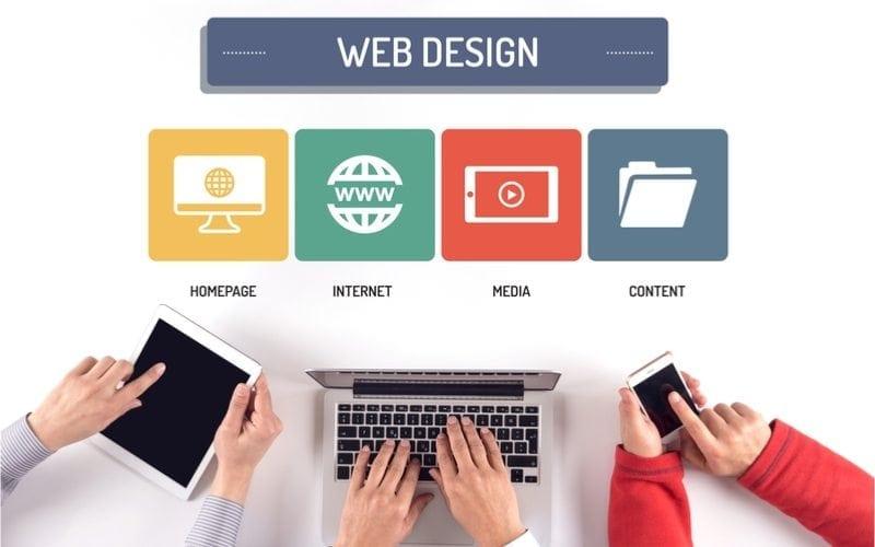 modern website design