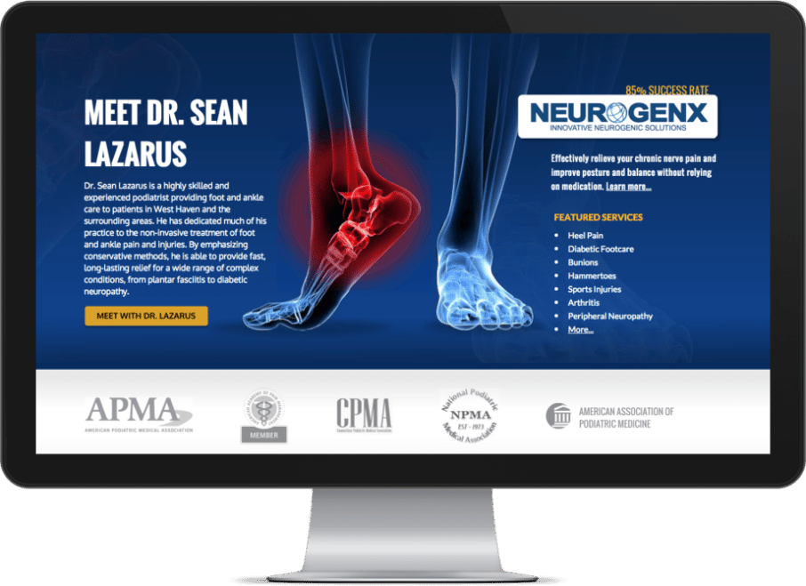 chiropractic website designs