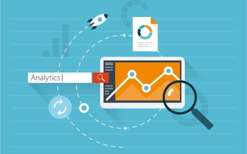 illustration of search engine analytics
