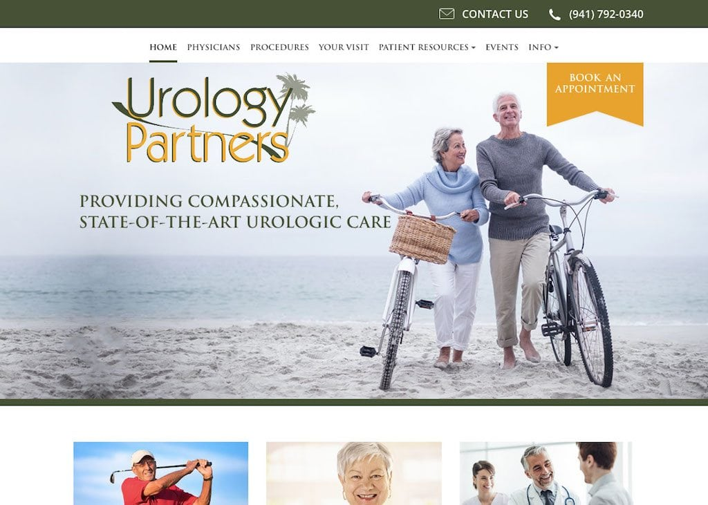 Urology Partners Website