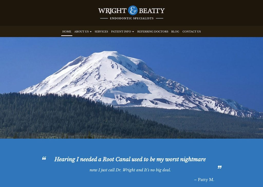 Wright and Beauty Endodontic Specialists Website