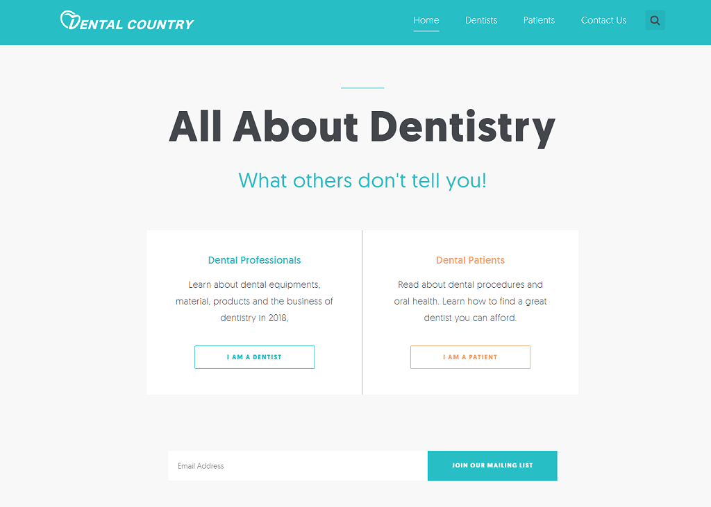 All About Dentistry What others don't tell you!
